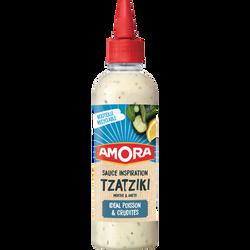 Sauce tzatziki AMORA, flacon souple de 217g