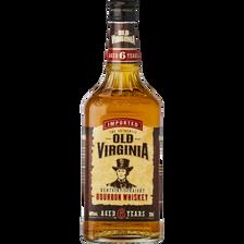Bourbon OLD VIRGINIA, 6 ans d'âge, 40°, 70cl