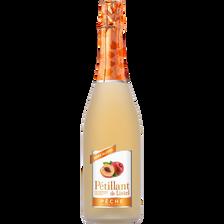 Listel Pétillant De  Sans Alcool Aromatisé Pêche 75cl