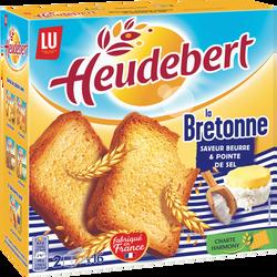 "Biscottes au sel de Guérande ""La Bretonne"" HEUDEBERT, 290g"