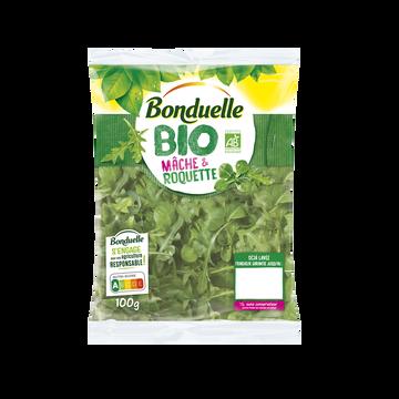 Bonduelle Mâche Et Roquette, Bio, Bonduelle, Sachet, 100g