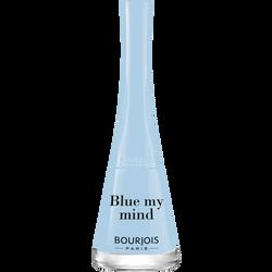 Vernis à ongles vernis 1 seconde 33 blue my mind BOURJOIS, nu, 9ml