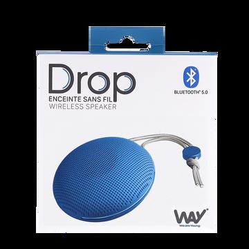 T'nB Enceinte  Way Whpvibesbl Bleu-bluetooth-3w-moderne Et Design-jusqu'à 2h D'autonomie-connectique:port Micro Usb-jusqu'à 10m De Portée-dragonne Et Câble Usb Inclus