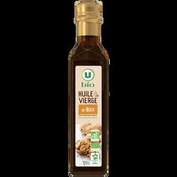Huile de noix U BIO, bouteille de 250ml