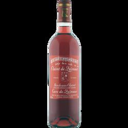 Vin rosé AOP Bordeaux Clairet de Quinsac, 75CL