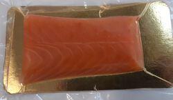 Lingot saumon fumé  YVELINES FRANCE NAUDIN