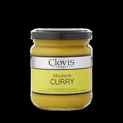 Moutarde au curry CLOVIS, 200g