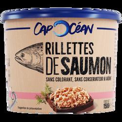 Rillettes de la mer au saumon CAP OCEAN, 150g