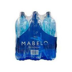 Eau de source MABELO, 6 bouteilles de 1,5l