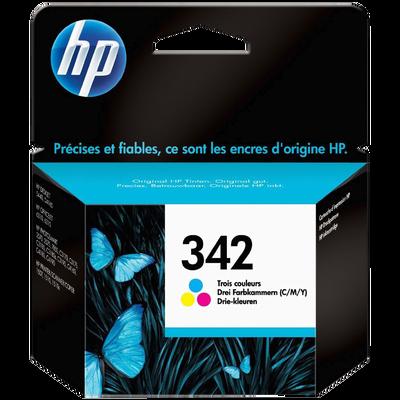 Cartouche d'encre HP pour imprimante, C9361EE couleur n°342, sous blister
