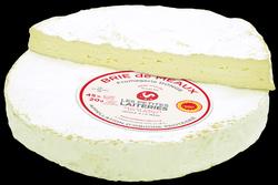 BRIE DE MEAUX 3/4 AFFINÉ,AOP, au lait cru de vache, 27,9%MG,