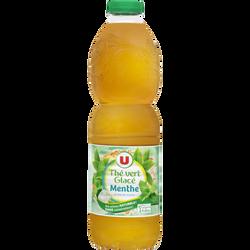 Boisson au thé thé vert menthe U pet 1,5L