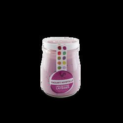 Yaourt myrtille lait entier pasteurisé 2,8%mg, 180g