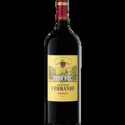 Vin rouge AOP Graves CHATEAU FERRANDE, 1,5l