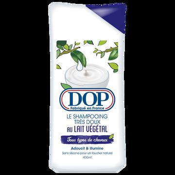 Dop Shampooing Au Lait Végétal Hydratant Dop, Flacon 400ml