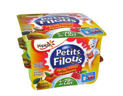 Filous Poire/Framboise 60g x 8