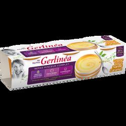 Repas minceur crème vanille caramel GERLINEA, 3x210g