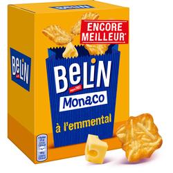 Crackers monaco emmental Lu BELIN, 100g