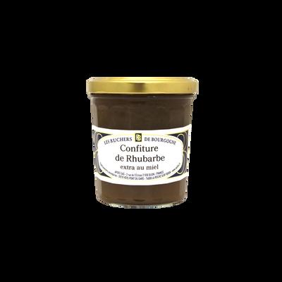 Confiture de rhubarbe au miel RUCHERS DE BOURGOGNE, 375g