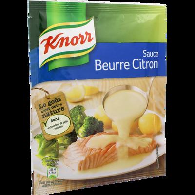 Sauce déshydratée beurre citron KNORR, 41g
