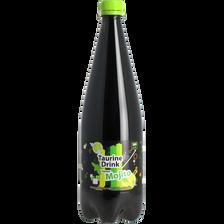 Boisson énergisante saveur mojito SPRING UP, bouteille en plastique de1l