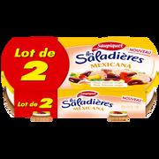 Saupiquet Saladières Snacking Mexicana Saupiquet, 2x220g Soit 440g