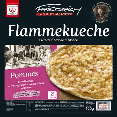 Tartes flambées aux pommes FRIECRICH, 2x 520g