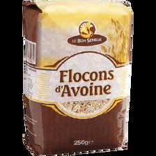 Flocon d'avoine Bon Semeur paquet 250g Trescarte