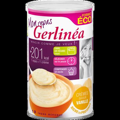 Préparation pour crème substitut de repas goût vanille GERLINEA, 540g