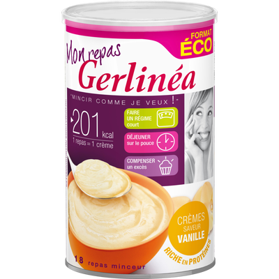 Repas minceur crème vanille GERLINEA, 540g