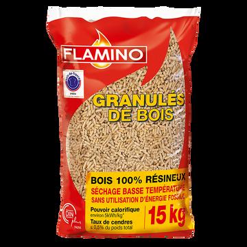 Flamino Granulés De Bois Flamino Pour Les Poêles À Pellets 15kg -