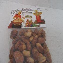 Pralinettes, cacahètes grillées au sucre de canne , sachet de 130 gr ,Lucien Geogelin