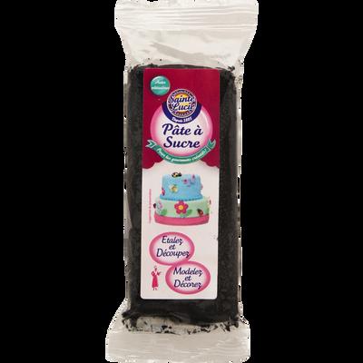 Pâte a sucre noir SAINTE LUCIE, 100g