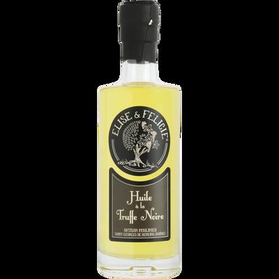 Huile aromatisée à la truffe ELISE ET FELICIE, bouteille de 25cl