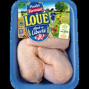 Fermiers de Loué Cuisse De Poulet Blanc, Loue, 900g