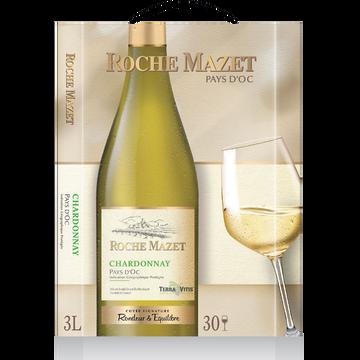 Roche Mazet Vin Blanc De Pays D'oc Chardonnay Roche Mazet, 3l