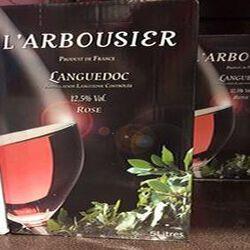 Vin Rosé Languedoc L'Arboussier L'Estabel Cabrières Bib 5 L