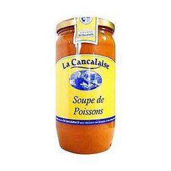 Soupe de poissons entier LA CANCALAISE 380g