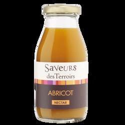 Nectar d'abricot SAVEURS DES TERROIRS, bouteille de 25cl