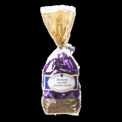 Bonbons au miel fourrés cassis LES RUCHERS DE BOURGOGNE, sachet de 250g