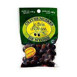 Olives noires AOC de Nyons LE BRIN D'OLIVIER, 150g
