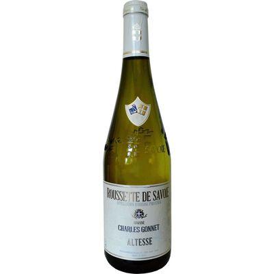 Vin blanc de Savoie Roussette AOC Charles Gonnet, 75cl