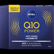 Nivea Soin Anti-rides Q10+ Nuit Nivea Visage, Pot De 50ml