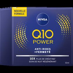 Soin anti-rides Q10+ nuit NIVEA visage, pot de 50ml