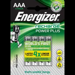 Piles préchargeables ENERGIZER, power plus, HR03, 700 MAH, 4 unités