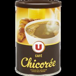 Chicorée café soluble U, boîte de 250g