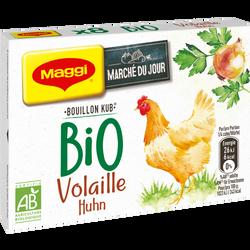 Bouillon volaille bio MAGGI, 8 tablettes de  80g