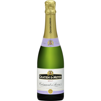 Saumur brut GRATIEN ET MEYER, bouteille de 37,5cl
