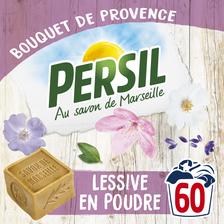 Lessive poudre bouquet de Provence PERSIL, baril de 60 mesures, 4,20kg