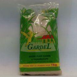 SUCRE CANNE ROUX 1KG GARDEL